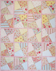 Crazy Shortcake Quilt As You Go