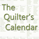 The Quilter's Calendar